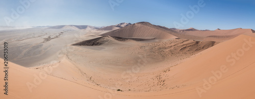 Aluminium Zalm Désert du Namibe depuis Dune 45