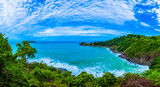 Promthep cape is the most popular viewpoint in Phuket. the most tourist always come to see sunset. in during rainy season always have big waves it danger for tourist to go around the foot hill - 206767616