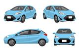 自動車、乗用車:セット