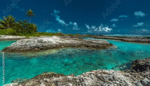 Foto Murales Tropical Island Reefs