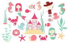 Banners  Cute Fairytale Characters Sticker