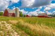 Minnesota Farm on a Hill
