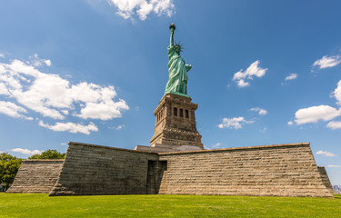 Lady Liberty Standing Tall