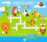 Colorful Crossword in English - 206867676