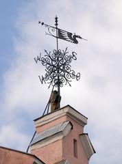 Wrought weathervane in Tallinn