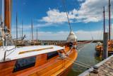 Yachthafen an der Ostsee, Segelboote - 206896245