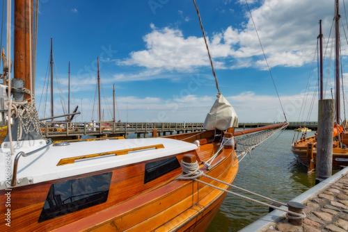 Fototapeta Yachthafen an der Ostsee, Segelboote