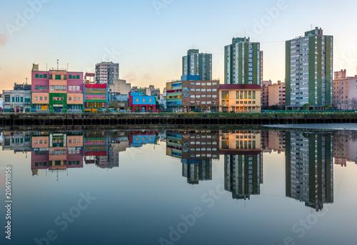 Leinwanddruck Bild La boca Buenos Aires Argentina