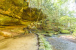 Old mans cave Hocking hill ohio