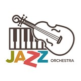 Jazz orchestra musical art vector poster