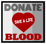 donate blood design - 206942071