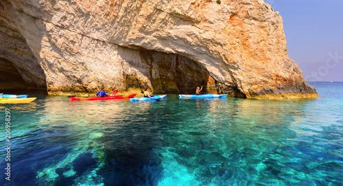 Greece, The island of Zakynthos.