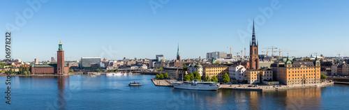 Foto Spatwand Stockholm Stockholm panorama