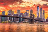 New York City Sunset Skyline - 206987893