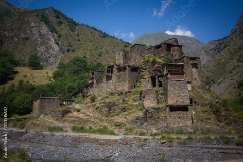 Fotobehang Cappuccino Georgian ancient city