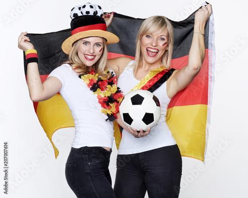 Aluminium Voetbal Deutsche Fußball Fans
