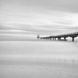Pier in Zinnowitz, Baltic coast, Usedom Island, Germany - 207008492