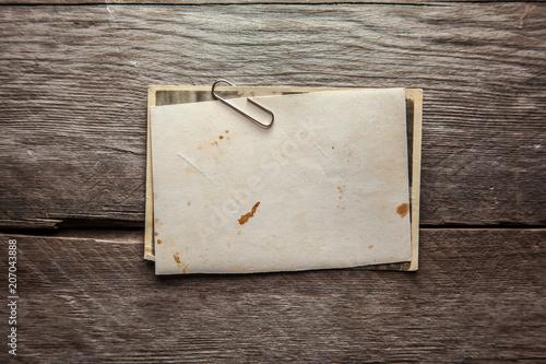 Vintage blank photo - 207043888