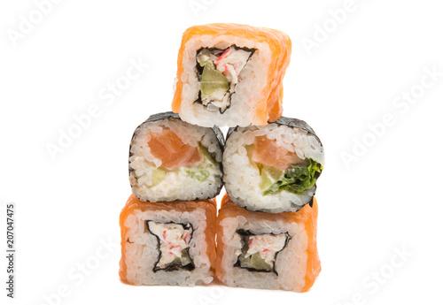 Aluminium Sushi bar sushi isolated
