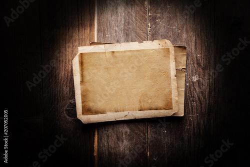 Vintage blank photo - 207052005