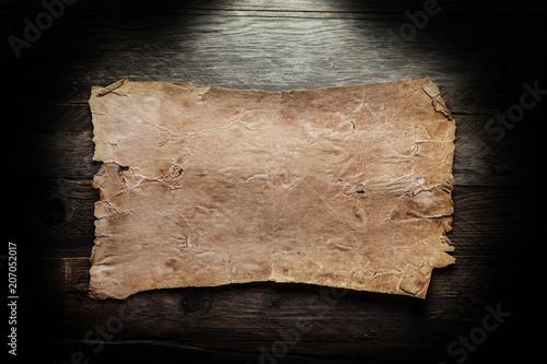 Vintage blank paper - 207052017