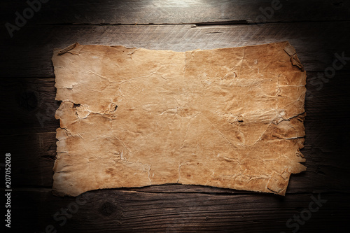 Vintage blank paper - 207052028