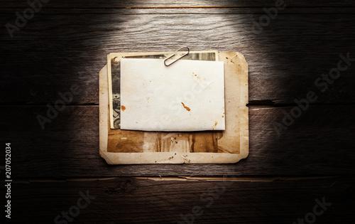 Vintage blank photo - 207052034