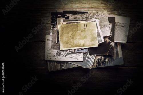 Vintage blank photo - 207052051