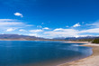 Beautiful Lake Granby in Colorado Rocky Mountains on a sunny day