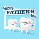 tooth with happy father day - 207080896