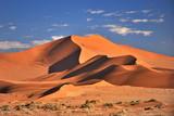 Namibia. Red dunes in the Namib Desert - 207083072