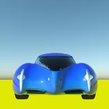 Generic model of a car 3d rendering - 207087229