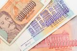 Former Yugoslavia banknotes