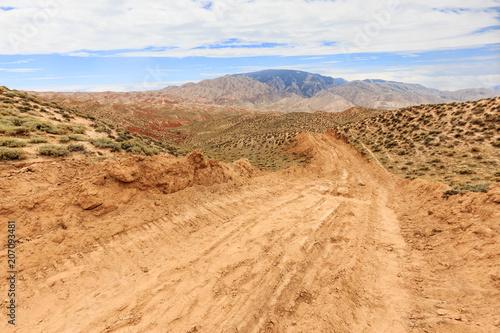 Fotobehang Landschappen yellow sandstone landscape