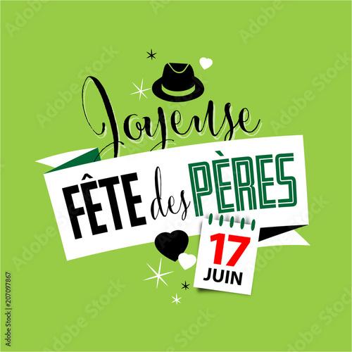 Joyeuse fête des pères - 17 juin 2018