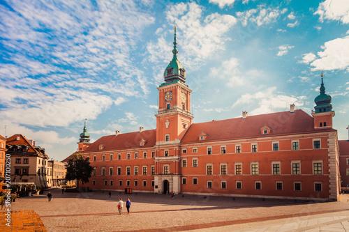 obraz lub plakat Royal Castle in Warsaw, Poland