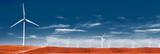 Tecnología e industria de energía.Ecología y medio ambiente.Parque eólico y electricidad.