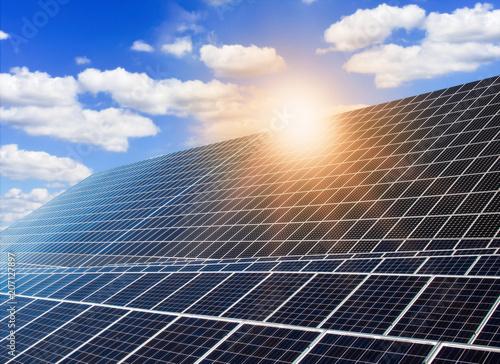 Photovoltaikanlage mit Solarmodulen