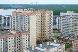St. Petersburg, Russia. Modern residential buildings in the urban area - 207157081