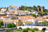 The historic town Silves and castle in Algarve, Portugal - 207158640