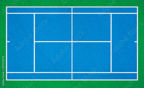 Fotobehang Tennis tennis court.