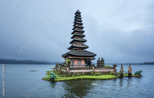 Plexiglas Bali Ulun Danu Beratan Temple, Bali ,Indonesia