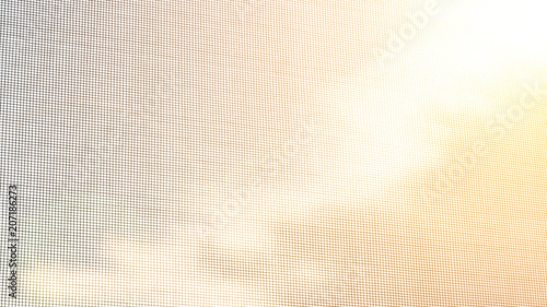 Mosquito net on the window. Protection against insects. Background. - 207186273