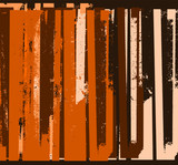 grunge abstract stripes background - 207195023