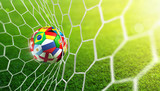 Soccer Ball In Goal - Russia 2018