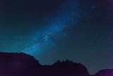 Dark blue sky with beautiful stars - 207202669