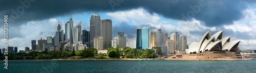 Dark cloud looming over Sydney