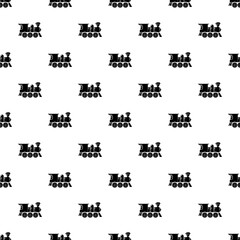 Balloon pattern vector seamless repeating for any web design