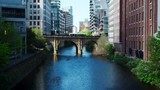 Manchester,UK - 4 May 2017: River Irwell Running Through Manchester City Centre - 207224238