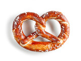 freshly baked pretzel - 207240850